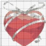 Схеми вишивка валентинок хрестиком