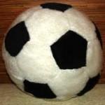 Подушка 'Футбольний м'яч'