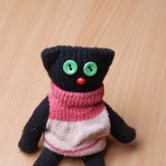 Котик з рукавичок