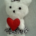 Плоска іграшка Ведмедик