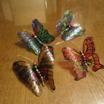 Метелики з пластикової пляшки